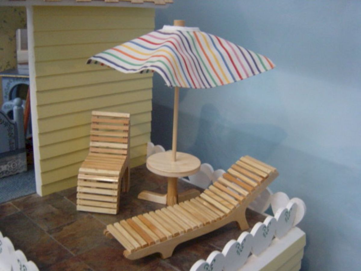 Diy barbie doll furniture 14
