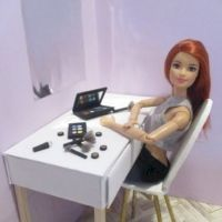53 Cheap and Affordable DIY Barbie Doll Furniture Ideas