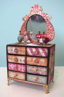 Diy barbie doll furniture 46
