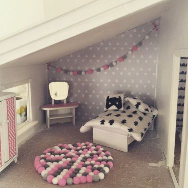 Diy barbie doll furniture 47