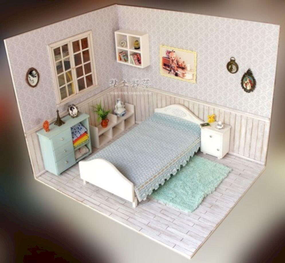 Diy barbie doll furniture 48