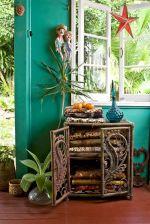 Dark green living room furniture 19