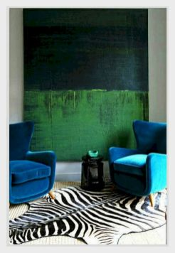 Dark green living room furniture 33