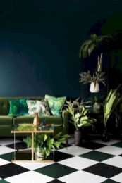 Dark green living room furniture 36