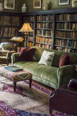 Dark green living room furniture 37