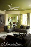 Dark green living room furniture 45