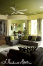 Dark green living room furniture 45