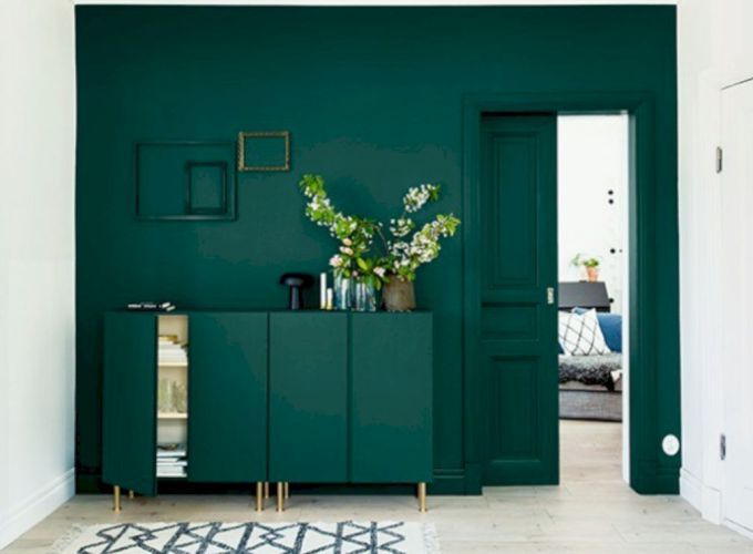 Dark green living room furniture 49