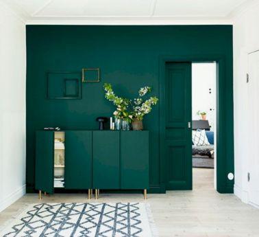 Dark green living room furniture 49