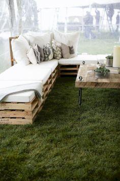 Diy outdoor patio furniture 29