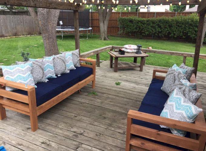 Diy outdoor patio furniture 54