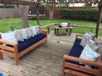 Diy outdoor patio furniture 54