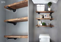 Easy and affordable diy wood closet shelves ideas 10