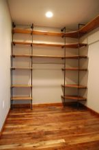 Easy and affordable diy wood closet shelves ideas 23