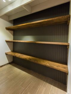Easy and affordable diy wood closet shelves ideas 40