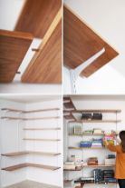 Easy and affordable diy wood closet shelves ideas 58