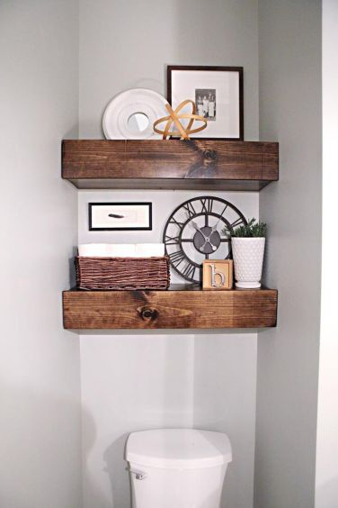 Easy and affordable diy wood closet shelves ideas 63