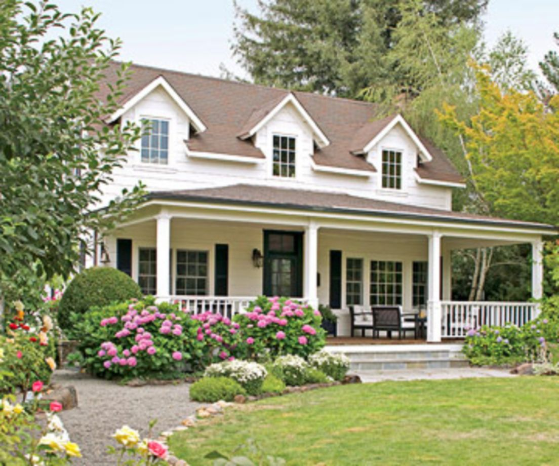 Exterior house colors with brown roof 08