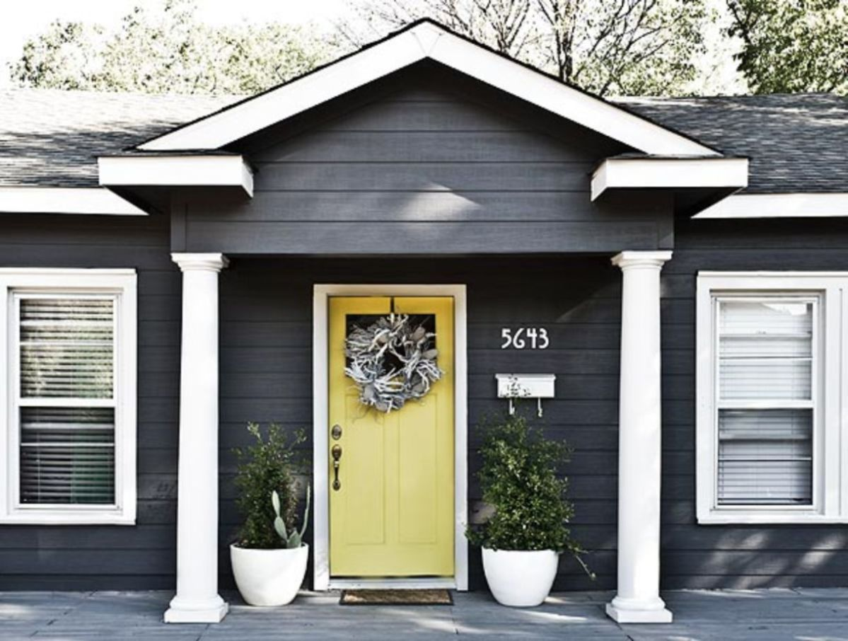 Exterior house colors with brown roof 09