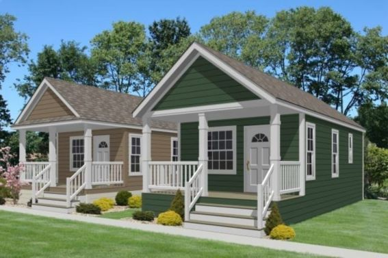 40 Exterior Paint Color Ideas For Mobile Homes - ROUNDECOR