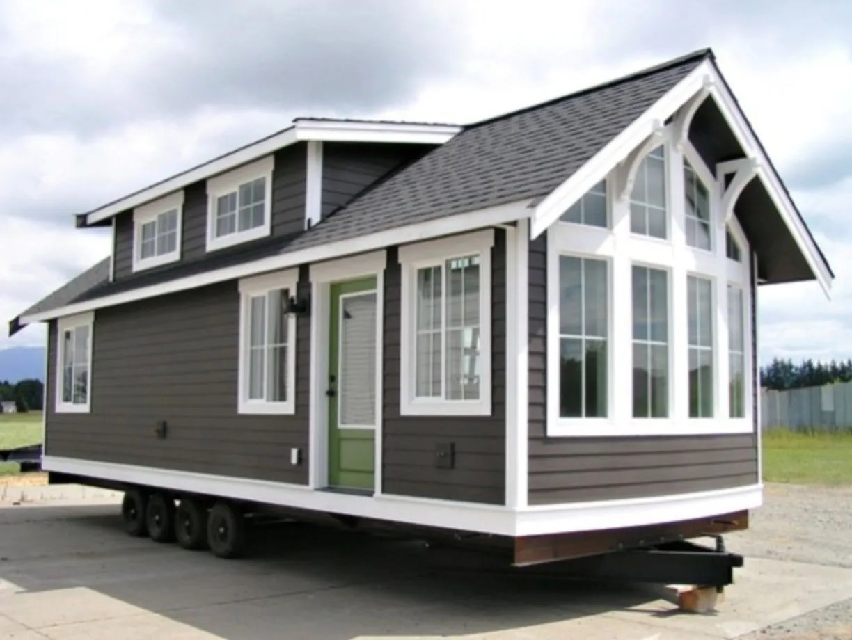 Exterior paint color ideas for mobile homes 40