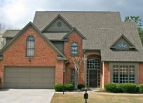Exterior paint color ideas with red brick 03