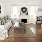 Furniture placement ideas with fireplace 45