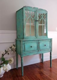 Gray shabby chic furniture 04