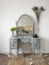 Gray shabby chic furniture 19