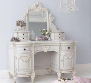 Gray shabby chic furniture 35
