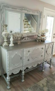 Gray shabby chic furniture 36