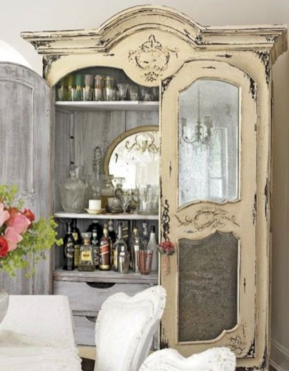 Gray shabby chic furniture 41