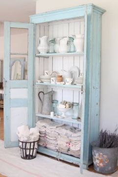 Gray shabby chic furniture 55