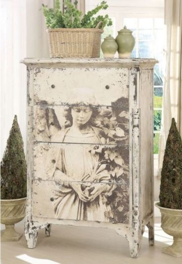 Gray shabby chic furniture 57