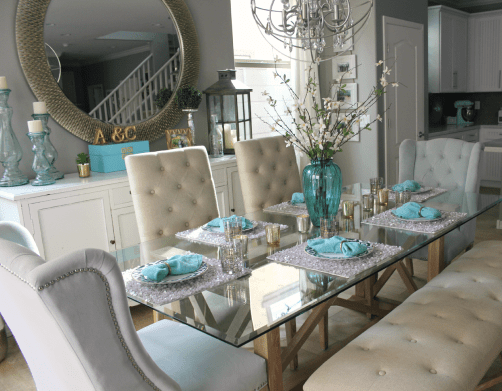 Incredible teal and silver living room design ideas 01