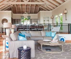 Incredible teal and silver living room design ideas 31