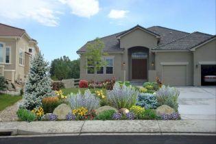 Inspiring small front garden ideas on a budget 08