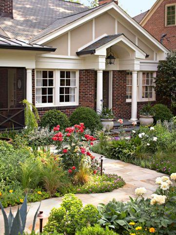 Inspiring small front garden ideas on a budget 26