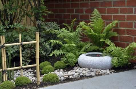 Inspiring small japanese garden design ideas 40