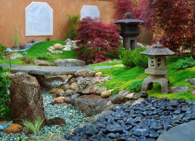 Inspiring small japanese garden design ideas 60