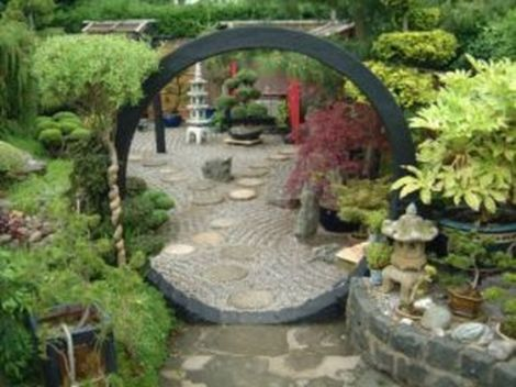 Inspiring small japanese garden design ideas 65