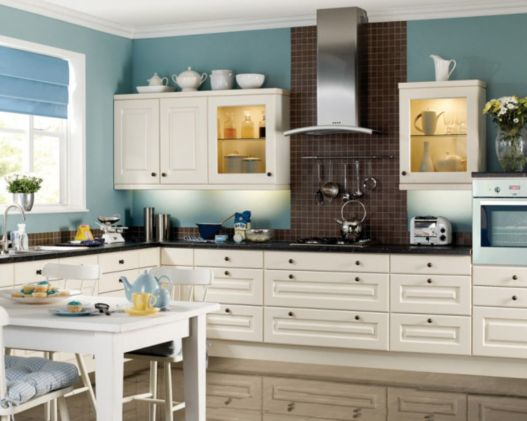 67 Modern Cream Painted Kitchen Cabinets Ideas - ROUNDECOR