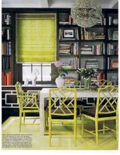 Painted faux bamboo furniture design 13