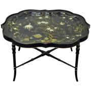 Painted faux bamboo furniture design 26