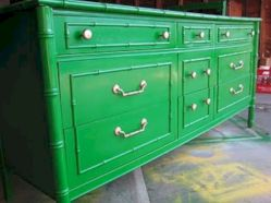 Painted faux bamboo furniture design 38