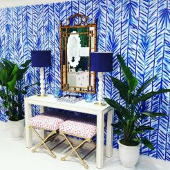Painted faux bamboo furniture design 40