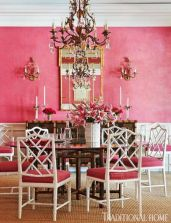 Painted faux bamboo furniture design 43