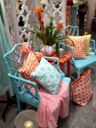 Painted faux bamboo furniture design 49