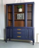 Painted mid century modern furniture 05