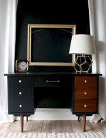 Painted mid century modern furniture 07